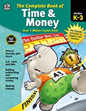 Carson Dellosa – The Complete Book of Time & Money for Grades K–3, Telling Time, Counting Money, 416 Pages