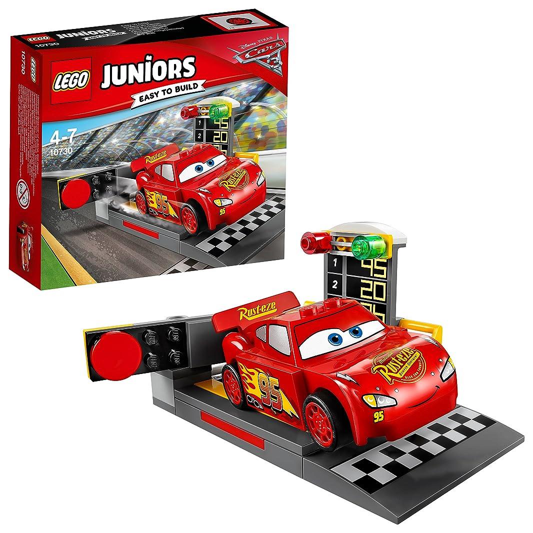 哺乳類わがままクッションレゴ (LEGO) ジュニア ディズニー カーズ ライトニング?マックィーンのスピードランチャー 10730