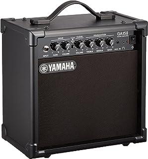 ヤマハ YAMAHA ギターアンプ GA15II  ドライブ&クリーンの2チャンネル仕様 練習用に最適な小型アンプ Aux in機能を使ってセッション形式での練習が可能 ヘッドホン端子付き