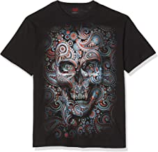 Spiral Direct dames Skull Illusion Front Print Bla...