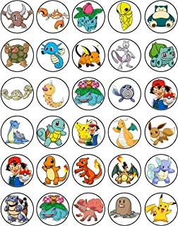 picture regarding Pokemon Cupcake Toppers Printable called Pokemon Cake Cupcake Toppers