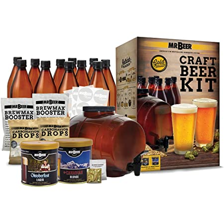 Mr. Beer Bonus Edition Beer Making Kit, 2 Gallon