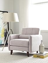 Serta Savanna Collection Arm Chair in Ivory