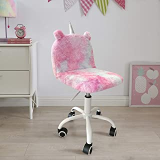 Ergonomic Kids Desk Chairs with Arms and Adjustable Height 101-103, Pink