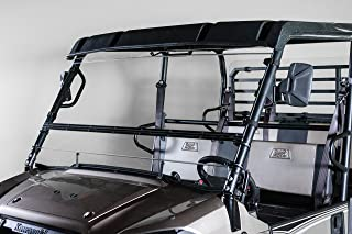 Kawasaki Mule Pro Series 2015 and Newer FULL-TILT WINDSHIELD. We need to know what kind of roof you have Hard or Soft? Check email/junk file for message after order is placed