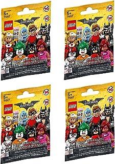 LEGO El Batman Minifigures películas Paquete de 4