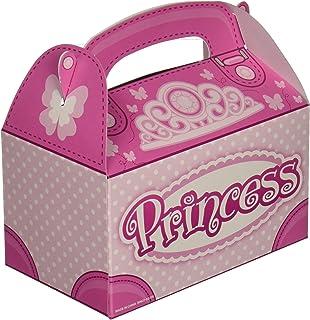 Pink Princess Party Favor Treat Boxes (12 Boxes Total)