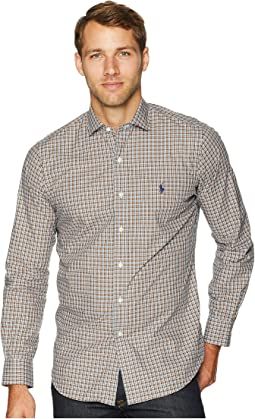 Classic Fit Stretch Poplin