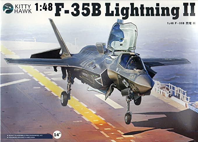 1//48 scale photoetch Metallic Details MD4835 Set for F-35B interior Kitty Hawk