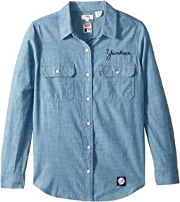 New York Yankees Chambray Shirt