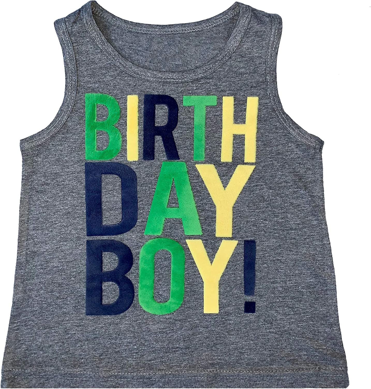 SoRock Birthday Boy Toddler Kids T-Shirt 1st, 2nd, 3rd, 4th, 5th, Youth Small-Youth Large