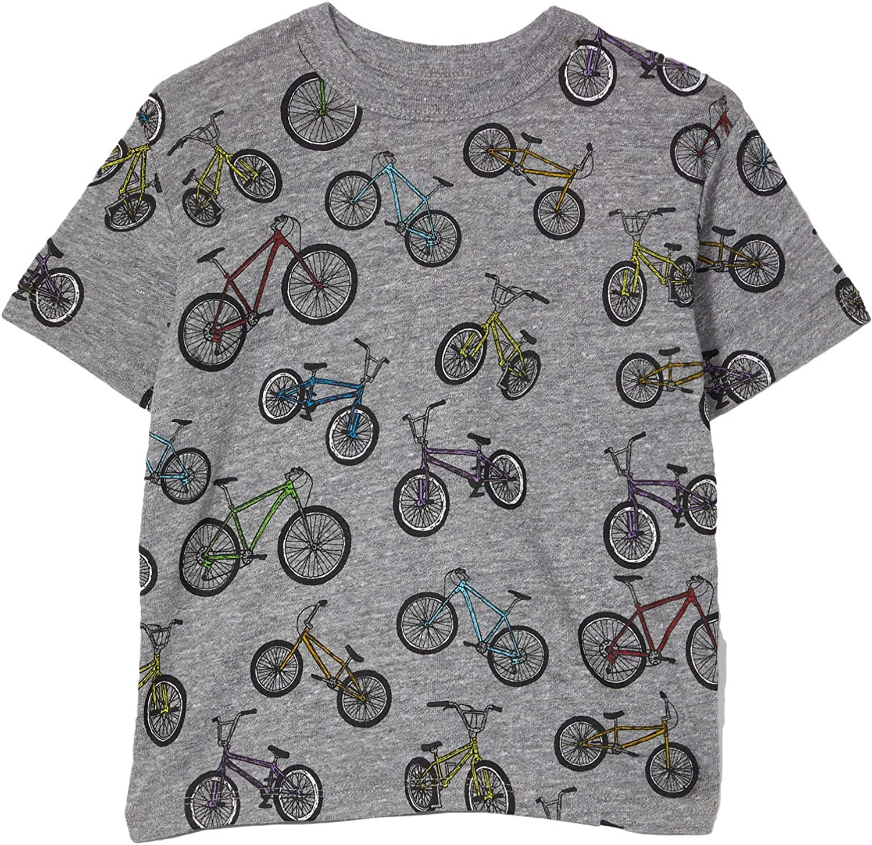 Chaser Kids Boy's Tri-Blend Short Sleeve Crew Neck T-Shirt (Toddler/Little Kids)