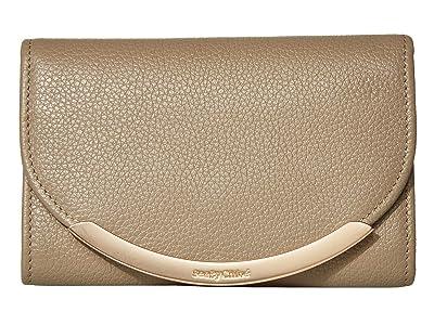 See by Chloe Lizzie Compact Wallet (Motty Grey) Handbags