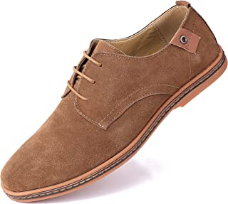Marino Suede Oxford Dress Shoes for Men - Business Casual Shoes