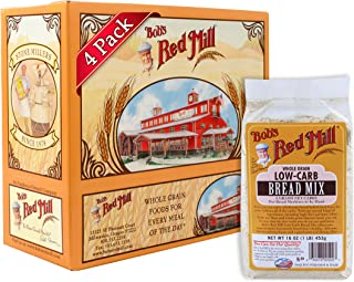 Bob's Red Mill Low-Carb Bread Mix, 16 Ounce (Pack of 4)