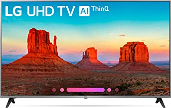 LG Electronics 65UK7700 65-Inch 4K Ultra HD Smart LED TV (2018 Model)