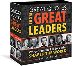 Great Quotes from Great Leaders 2021 Calendar