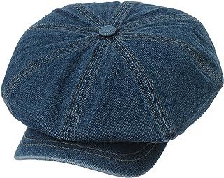 376473cab15 WITHMOONS Denim Cotton Newsboy Hat Baker Boy Beret Flat Cap KR3613