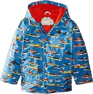 [ハットレイ] Hatley Kids ボーイズ Monster Boats Raincoat (Toddler/Little Kids/Big Kids) ジャケット [並行輸入品]