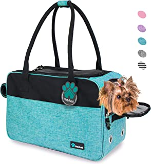 PetAmi Airline Approved Dog Purse Carrier | Soft-Sided Pet Carrier for Small Dog, Cat, Puppy, Kitten | Portable Stylish Pe...
