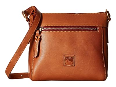 Dooney & Bourke Florentine Classic Allison Crossbody (Natural/Self Trim) Cross Body Handbags