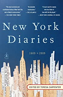 New York Diaries: 1609 to 2009 (Modern Library Paperbacks)