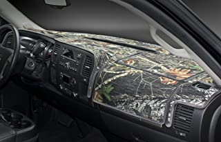 Coverking Custom Fit Dashboard Cover for Select Chevrolet Silverado 1500/2500 - Velour/Poly Cotton Canvas (Mossy Oak)