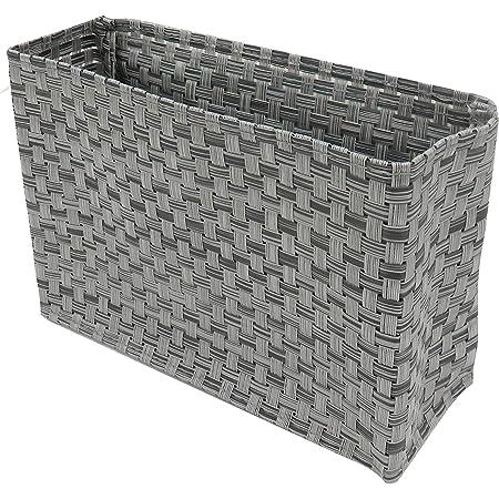東和産業 浴室用ラック 磁着FB ワイドポケット マグネット 浴室収納 グレー 約19×7×13cm 水洗い可 メッシュ素材 水切れが良い