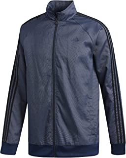 adidas Mens Essentials 3-Stripe Woven Track Top