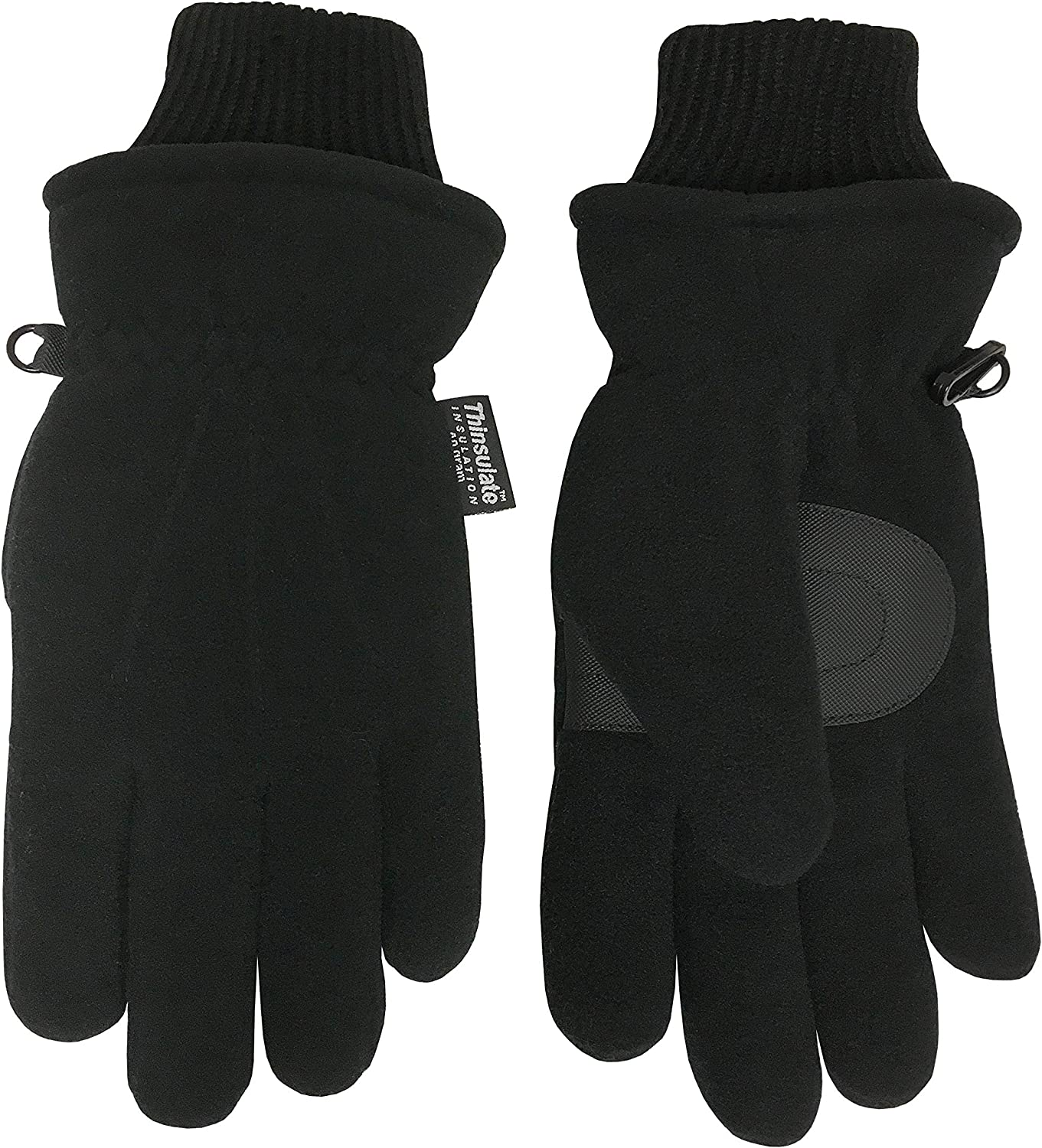 Broner Ladies Fleece Glove with a Knit Wrist, Palm Patch and Thinsulate Insulation
