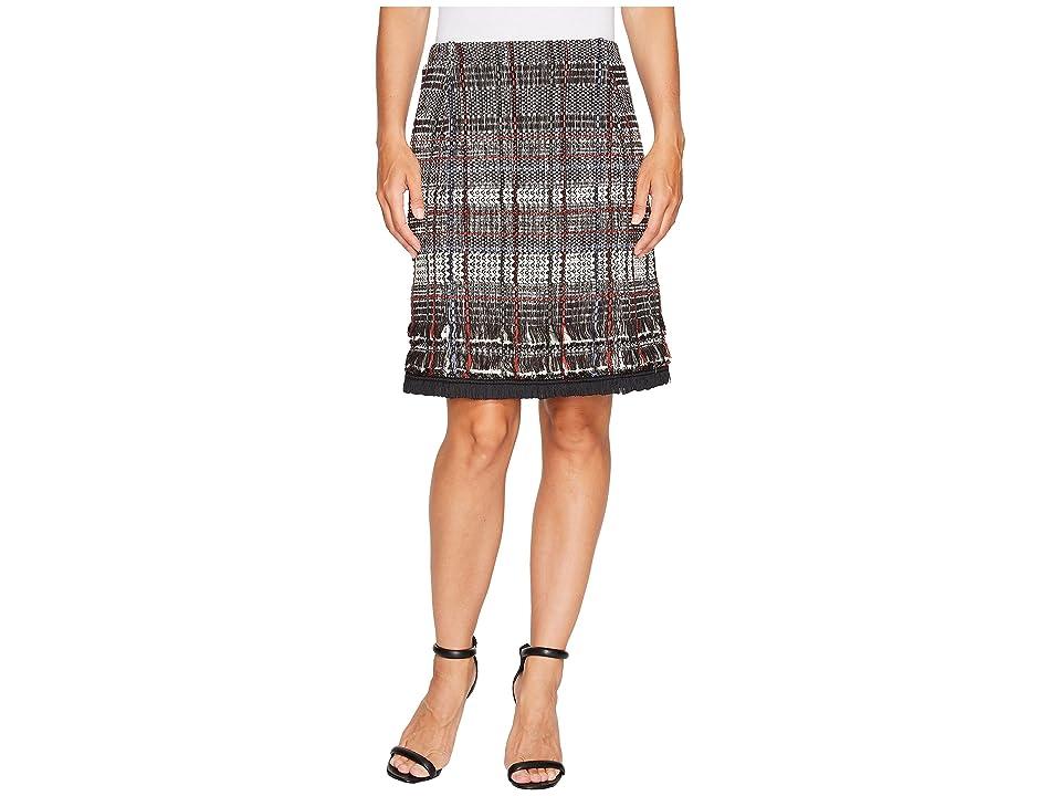 NIC+ZOE Fall Fringe Skirt (Multi) Women
