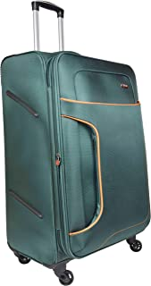 Murano Polyester 28 inches Green Hardsided Cabin Luggage (1070050_C)