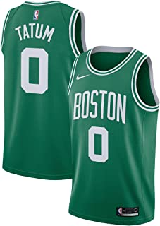 NIKE Jayson Tatum Boston Celtics Kelly Green Swingman Icon Edition Jersey - Men's Small