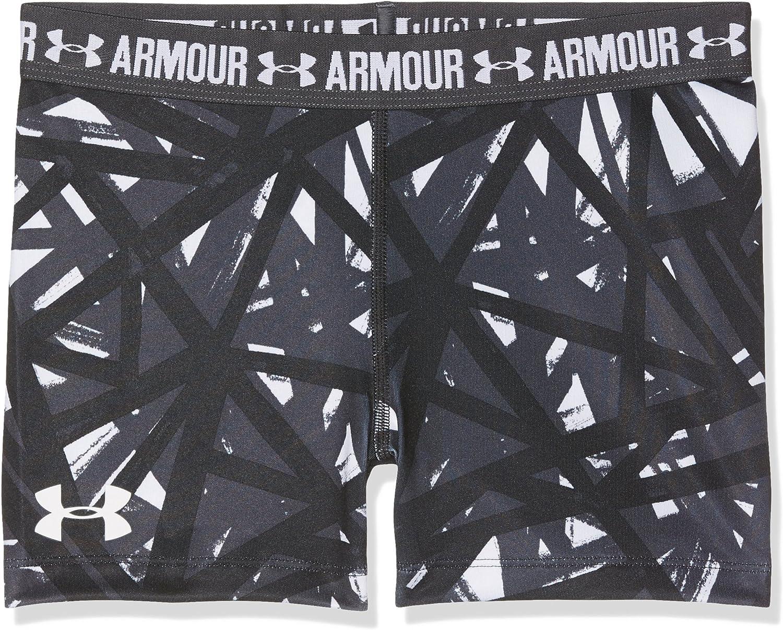 Under Armour Girls Heatgear Armour Printed 3 Shorts