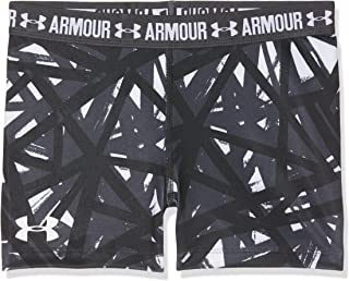 "Under Armour Girls Heatgear Armour Printed 3"" Shorts"