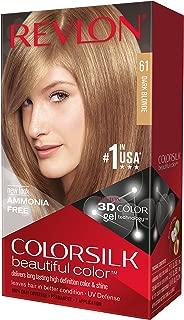 Revlon Colorsilk Haircolor, Dark Blonde, 10 Ounces (Pack of 3)