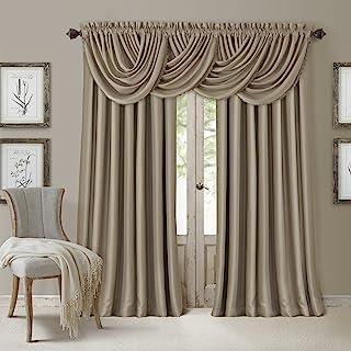"""ستائر Elrene Home Fashions 026865854039 تعتيم لنافذة نافذة نافذة نافذة تعتيم كفاءة الطاقة, 52"""" x 108"""" (1 panel)"""