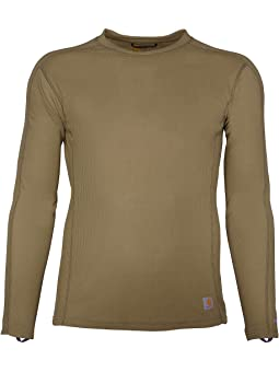 Carhartt Mens Force Midweight Classic Thermal Base Layer Long Sleeve Shirt