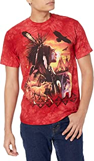 The Mountain Men's Indian Collage T-Shirt