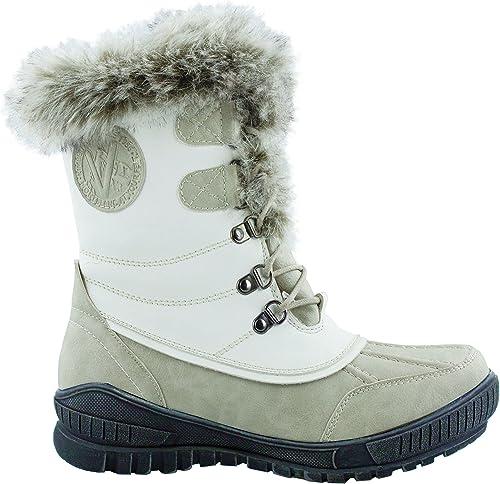 Kimberfeel Delmos - Stiefel de nieve, Farbe Weiß