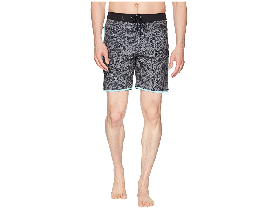 Hurley Phantom Kanpai 18 Boardshorts (Anthracite) Men