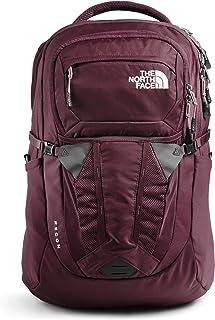 حقيبة ظهر ريكون نسائية من ذا نورث فايس، بني جذري، وردي بنمط ميسا مقاس واحد