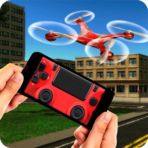 Virtual Reality Quadrocopter