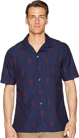 Short Sleeve Jacquard Shirt