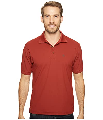 Fjallraven Crowley Pique Shirt (Deep Red) Men