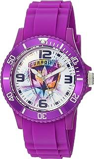 MARVEL Guardian Analog-Quartz Watch with Plastic Strap, Purple, 24 (Model: WMA000110)
