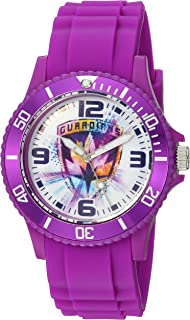 MARVEL Guardian Analog-Quartz Watch with Plastic Strap, Purple, 24 (Model: WMA000110)