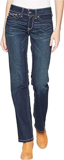 Ariat R.E.A.L.™ Straight Icon Jeans in Ocean