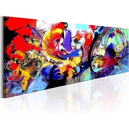 B&D XXL murando Impression sur Toile intissee 135x45 cm 1 Piece Tableau Tableaux Decoration Murale Photo Image Artistique Photographie Graphique Abstrait a-A-0279-b-a