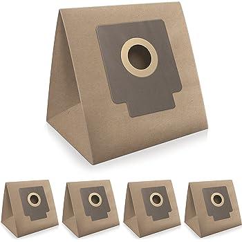 WESSPER® Bolsas de aspiradora para Hoover TFS5206 (5 piezas, papel): Amazon.es: Hogar